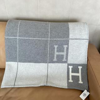 Hermes - 新品未使用 エルメス アヴァロン ブランケット 毛布