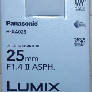 Panasonic - LEICA DG SUMMILUX 25mm f1.4Ⅱ ASPH  xa025