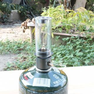 プラケース付 OD缶用 超軽量ガスランタン ランプライト(ストーブ/コンロ)