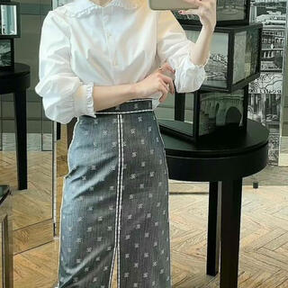 フェンディ(FENDI)のフェンディ デニムスカート 36サイズ (ロングスカート)