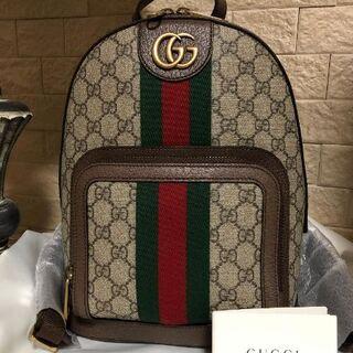 Gucci - 美品★グッチ スモールバックパック オフィディア GGスプリーム リュック