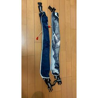ライフジャケット 自動膨張タイプ 2SET