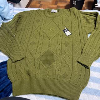 BURBERRY - バーバリー Burberry  セーター Mサイズ タグ付き グリーン