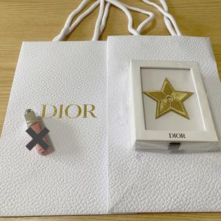 Dior - DIOR ピンバッジ、ショッパー