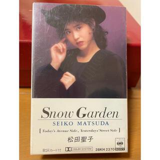 松田聖子 カセットテープ Snow Garden レア物