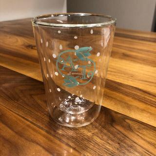 アフタヌーンティー(AfternoonTea)の【ふーちゃん様専用】アフタヌーンティー ダブルウォールグラス(グラス/カップ)