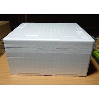 中古 リンゴ箱 フタ付き 発泡 スチロール 製  リンゴ ケース1個!(アクアリウム)