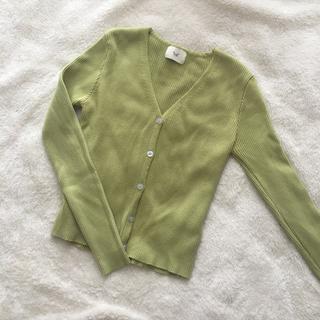 ロキエ(Lochie)のgreen cardigan❤︎(カーディガン)