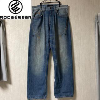 Rocawear - 【90s】ロカウェア Rocawear B系 Bボーイ デニムパンツ ワイド