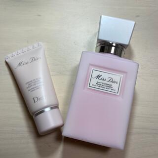Dior - (新品)Miss Dior ボディクリーム75mL ハンドクリーム20mL
