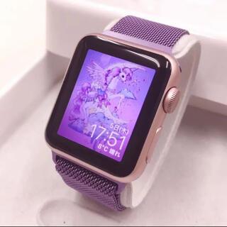 Apple Watch - Applewatch ローズゴールド 人気色アップルウォッチ