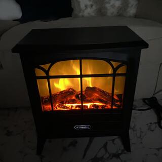 Francfranc - 電気暖炉 Dinky Stove ブラック
