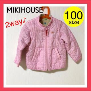 ミキハウス(mikihouse)の■ミキハウスMIKI HOUSE■アウター 女の子 100 ダウンジャケット(ジャケット/上着)