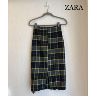 ZARA - ZARA タイトスカート 黄色