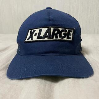 XLARGE - 【極レア】XLARGE エクストララージ メッシュキャップ 90s 古着 帽子