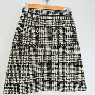 アプワイザーリッシェ(Apuweiser-riche)のアプワイザー 台形ミニスカート(ミニスカート)
