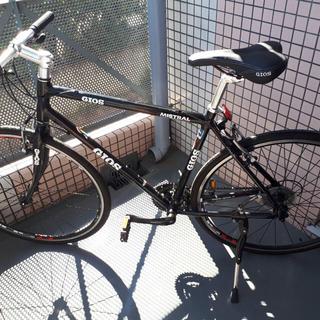 ジオス(GIOS)の【GIOS】 ジオス ミストラルブラック クロスバイク(自転車本体)