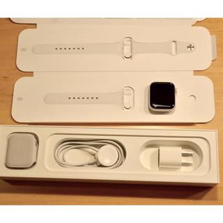 Apple Watch - 【美品】apple watch series5  44mm GPS  シルバー