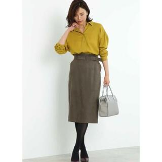 ボッシュ(BOSCH)のBOSCH フェイクスエードタイトスカート ¥20,900(ロングスカート)