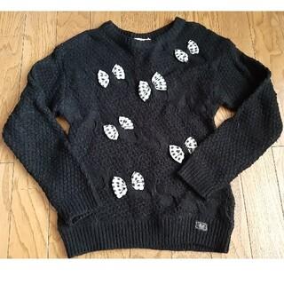 mezzo piano - 子供服 メゾピアノ セーター 130cm