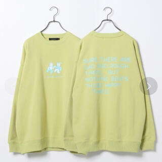 RAGEBLUE - 【OSAMU GOODS】コラボ裏起毛プリント 値下げ クルーネック 限定