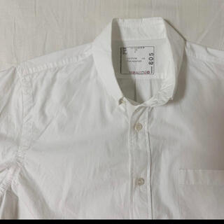sacai - sacai/サカイ/シアサッカーシャツ/サイズ2/ナイロン切替/裏地リボン