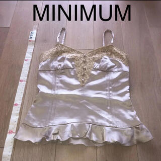 MINIMUM - ★☆ミニマム サテンキャミ