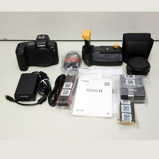 Canon - EOS Rボディ、リング付きマウントアダプター、バッテリーグリップ 豪華セット