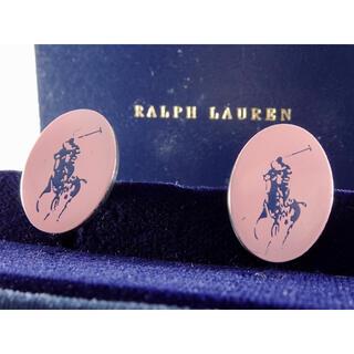 ラルフローレン(Ralph Lauren)のラルフローレン シルバー ホース クラシック ロゴ カフス カフリンクス(カフリンクス)