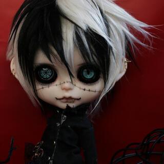 アイシードール ブライスサイズ ハロウィン ツギハギの男の子(人形)