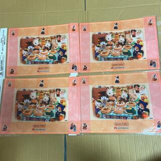 森永 オリジナル シルバニアファミリーランチョンマット ハロウィンVer (キャラクターグッズ)