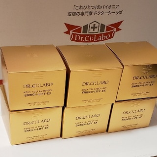 Dr.Ci Labo - 120g 6個 ドクターシーラボ アクアコラーゲンゲル  エンリッチリフト 新品