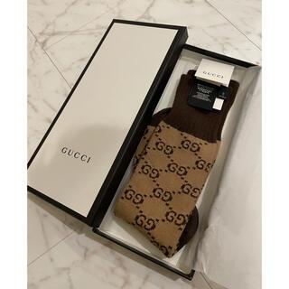 Gucci - 【期間限定】正規 GUCCI グッチ  GGパターンコットンブレンドソックス靴下