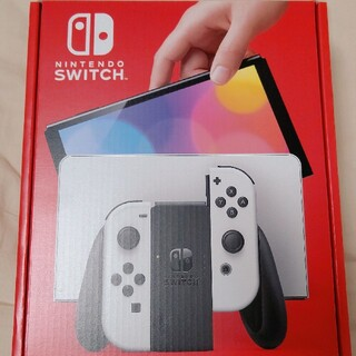 新型 Nintendo Switch 有機EL モデル ホワイト 本体