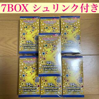 ポケモン(ポケモン)の25th aniversary collection ポケモン 7box(Box/デッキ/パック)