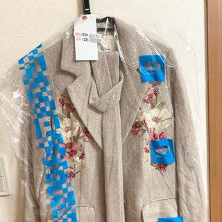 リリーブラウン(Lily Brown)のLILY BROWN ♡ 刺繍コート(ロングコート)