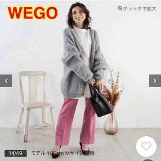 ウィゴー(WEGO)のWEGO カラーセミフレアスラックス(カジュアルパンツ)