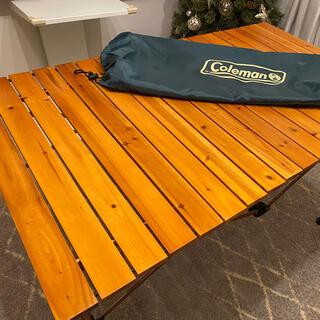 Coleman - コールマン ナチュラルウッドロールテーブル クラシック(110)