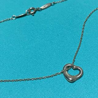 Tiffany & Co. - オープンハート ネックレス