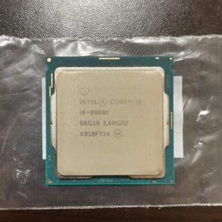 完動品 Intel Core i9 9900K