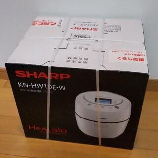 SHARP - ヘルシオ ホットクック KN-HW10E-W ホワイト