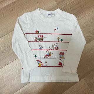 familiar - キッズ 長袖tシャツ familiar 110