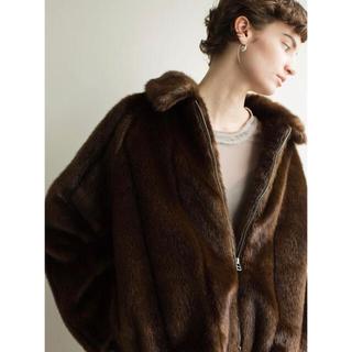 leinwande faux fur jacket