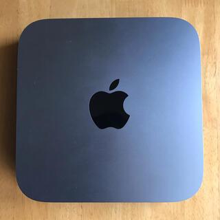 Apple - Mac mini 2018 3GHz 6コア Core i5 スペースグレイ