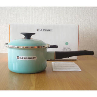 ルクルーゼ(LE CREUSET)のEOS ソースパン 14cm クールミント(鍋/フライパン)