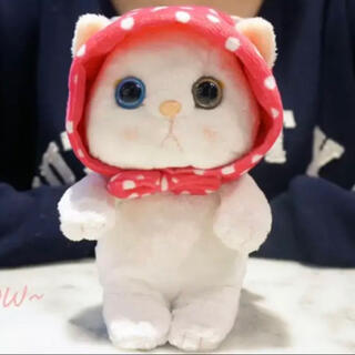 choo choo cat ピンクずきんぬいぐるみiPhone X/XS用