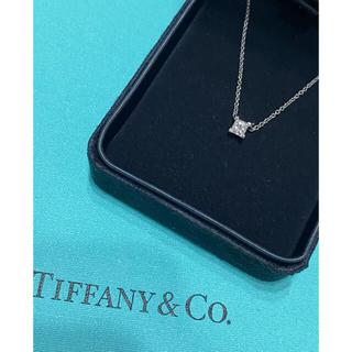 Tiffany & Co. - ティファニー 一粒ダイヤネックレス 期間限定お値下げ中