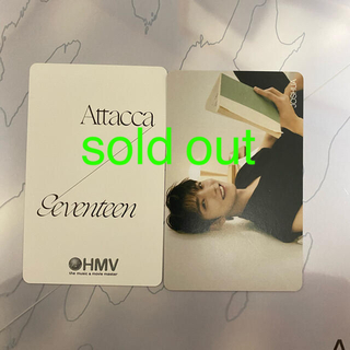 SEVENTEEN - seventeen attacca トレカ hmv
