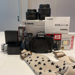 Canon - Canon EOS Kiss M ダブルレンズキット ブラック