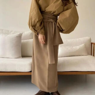 カスタネ(Kastane)のlawgy original wrap skirt(ロングスカート)